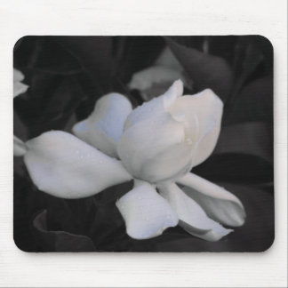 Gardenia Black & White Mouse Pad