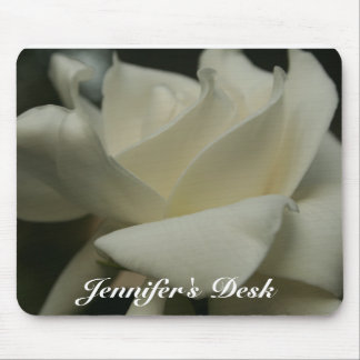 Gardenia, Jennifer's Desk Mouse Pad
