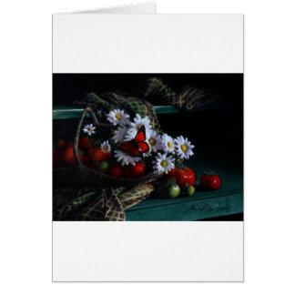 Gardening Bench Card
