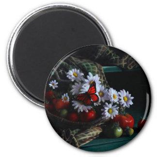 Gardening Bench Magnet