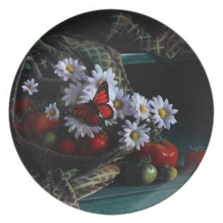 Gardening Bench Plate