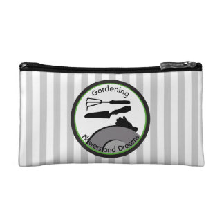 Gardening Flowers and Dreams Cosmetic Bag