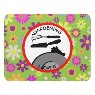 Gardening Flowers and Dreams Door Sign