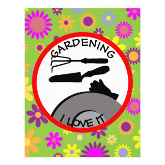 Gardening Flowers and Dreams Flyer