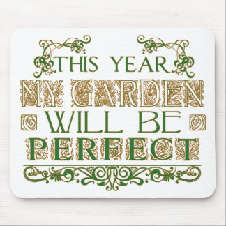 Gardening gift mouse pad