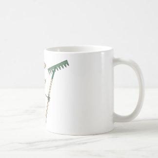 Gardening Girl  Waving A Greeting Mug