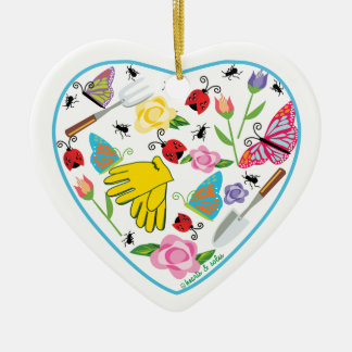 Gardening Heart Ornament
