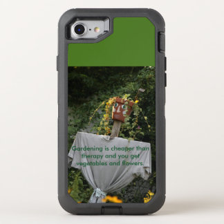Gardening is Cheaper Than Therapy OtterBox Defender iPhone 7 Case
