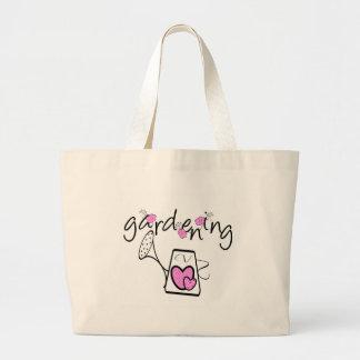 Gardening Jumbo Tote Bag