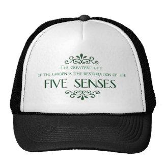 Gardening Quote Trucker Hats