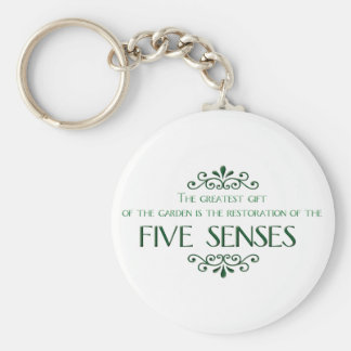 Gardening Quote Key Chains