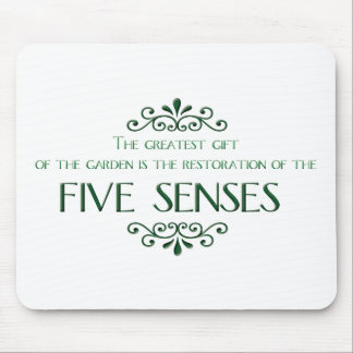 Gardening Quote Mouse Pad