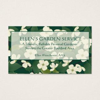 Gardening Service Business Card