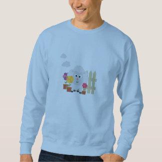 Gardening Sheep with flowers Z67e8 Sweatshirt