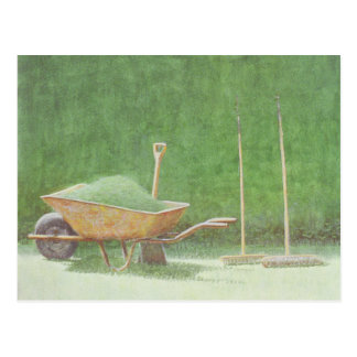 Gardening Still Life 1985 Postcard