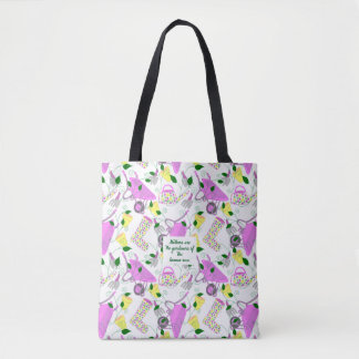 Gardening Themed Tote Bag