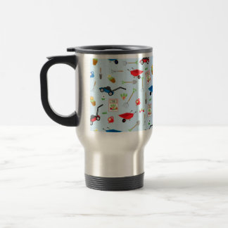 Gardening Tools Travel Mug