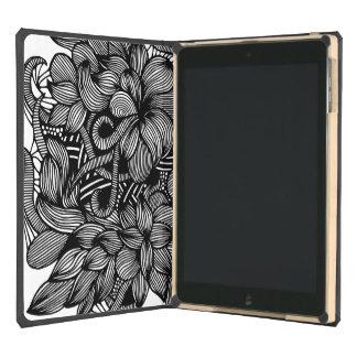 Gardens #1 hand drawn iPad Dodocase iPad Air Case