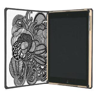 Gardens #2 hand drawn iPad Dodocase iPad Air Covers
