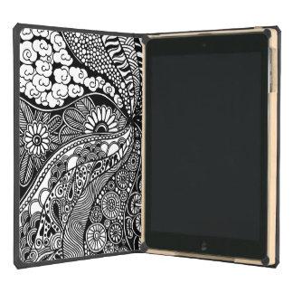 Gardens #6 hand drawn iPad Dodocase iPad Air Cases