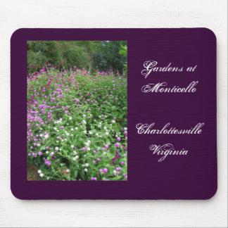 Gardens at Monticello Mouse Pad