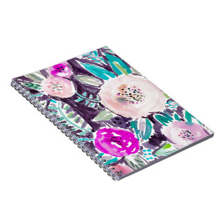 Gardens of Rockridge Painterly Watercolor Floral Note Books