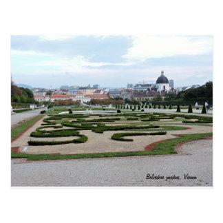 Gardens of Vienna Postcard