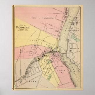 Gardiner, Kennebec Co Poster