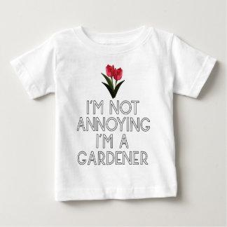 Gardner garden flowers Veggie plants Floristin Baby T-Shirt