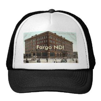 Gardner Hotel, Fargo ND Vintage 1910 Cap