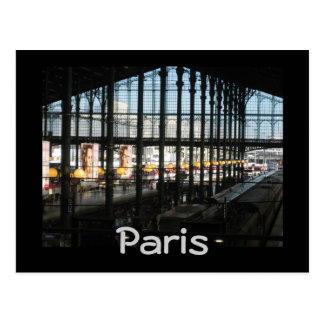 Gare du Nord Postcard