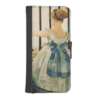 Gare St. Lazare, 1872-3 iPhone 5 Wallet Case