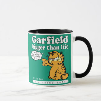 Garfield Bigger Than Life Mug