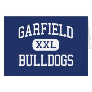 Garfield - Bulldogs - High - Los Angeles Cards