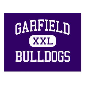 Garfield - Bulldogs - High - Seattle Washington Postcards