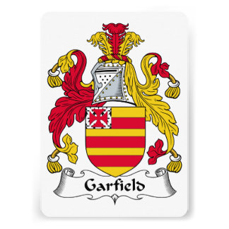 Garfield Family Crest Invitation