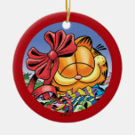 Garfield Holiday Presents PERSONALIZED Ornament