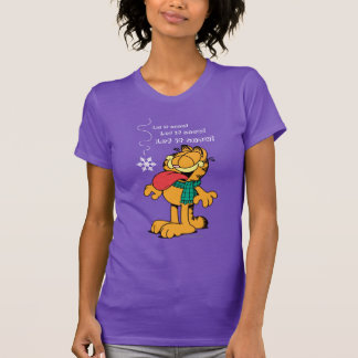 Garfield Let it Snow! T-shirt