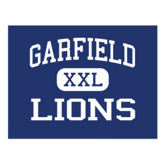 Garfield - Lions - High - San Diego California Post Cards
