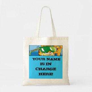 Garfield Logobox In Charge Tote Bag