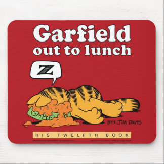 Garfield Out To Lunch Mousepad