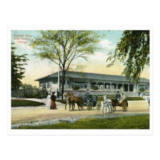 Garfield Park, Chicago 1908 Vintage Postcard