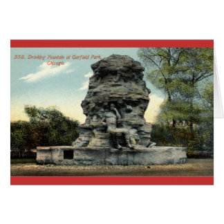 Garfield Park Chicago Vintage 1912 Greeting Card