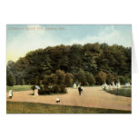 Garfield Park, Cleveland Ohio 1910 vintage Greeting Card
