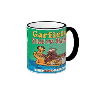 Garfield Spills The Beans Mug