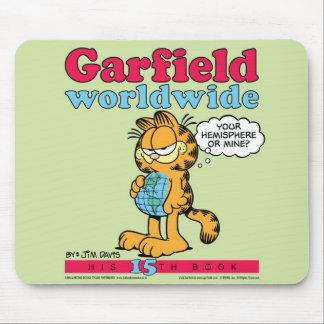Garfield Worldwide Mousepad