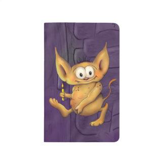 GARGOO HALLOWEEN CARTOON Pocket Journal