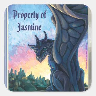 Gargoyle Art, Property of Stickers