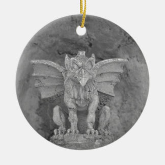 Gargoyle Ceramic Ornament