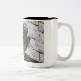 Gargoyle Design #3 Two-Tone Coffee Mug